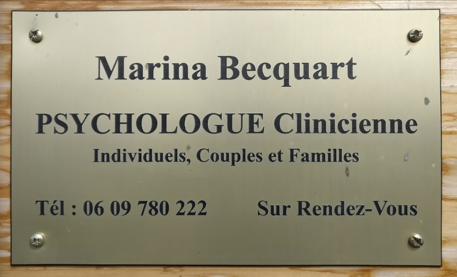 Marina Becquart Psychologue